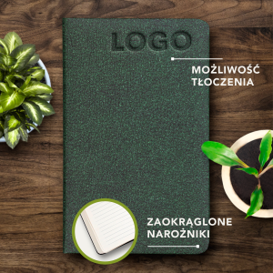 ECO NOTES ALCANTARA - Amazon Green